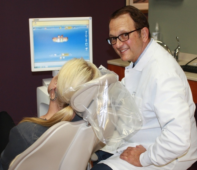 CEREC training consultation - Dr Paul Caselle